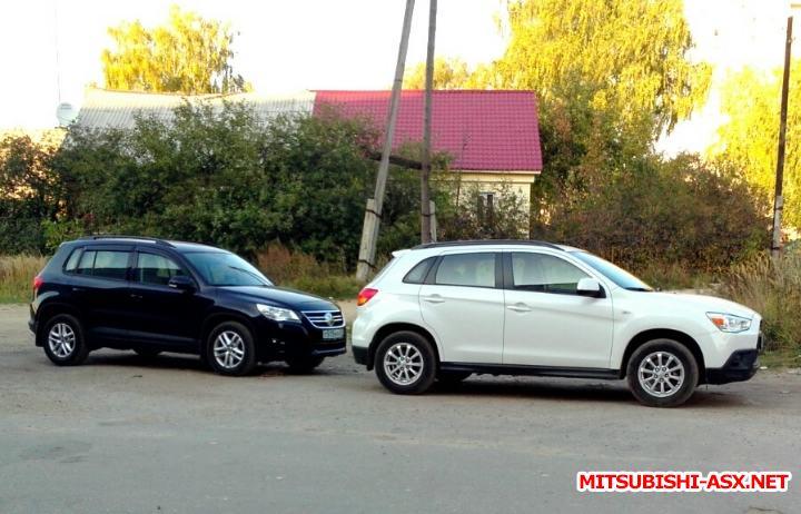 Volkswagen Tiguan vs. Mitsubishi ASX - Фыч и Тигуан.jpg