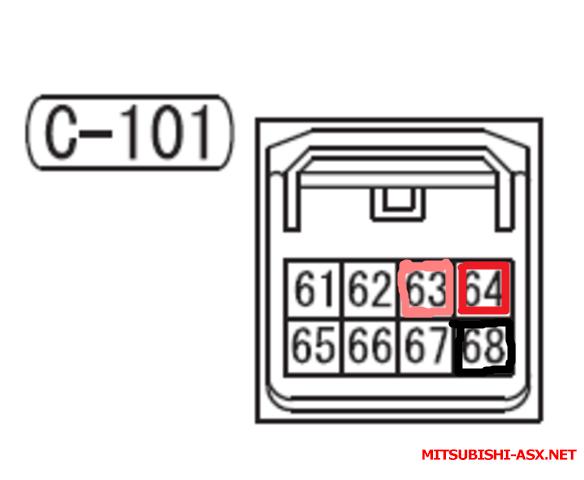 На моем разъеме у магнитолы только проводки Розовый ,красный,и черный - 594e37168e804abbba4c505a2976c409.png