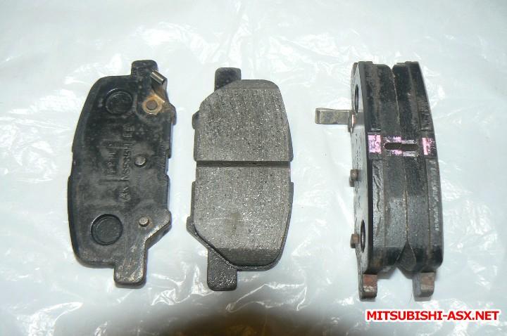 [Продам] Детали тормозной системы. - колодки рестайл.JPG