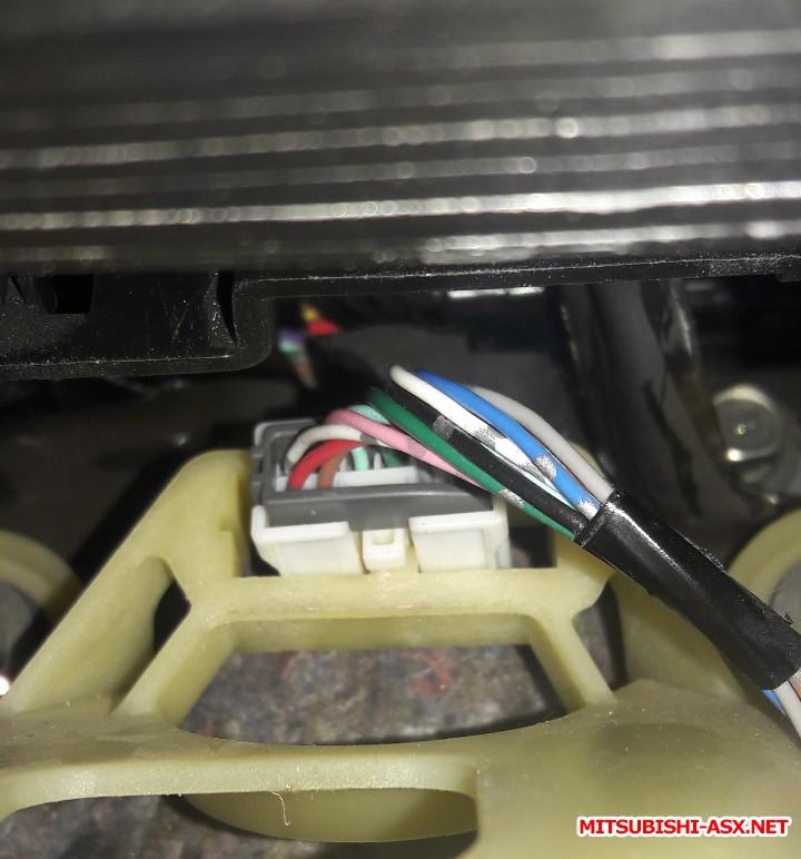 Проводка кнопок подогрева сидений Mitsubishi ASX - 20180405_232659.jpg