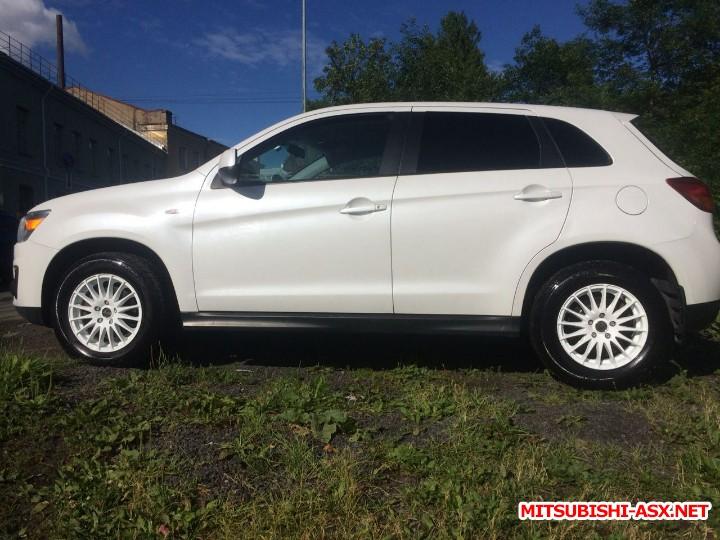 Продажа Mitsubishi ASX 1.8 2013 CVT с пробегом 122000 г.СПб - a11ee6a4-2fe8-42e6-8faa-079140ba4ecd.JPG