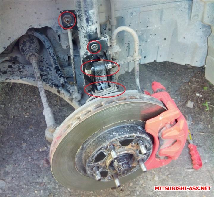 Замена передних стоек на аутовские фотоотчет  - 5c44a5ed3136.jpg