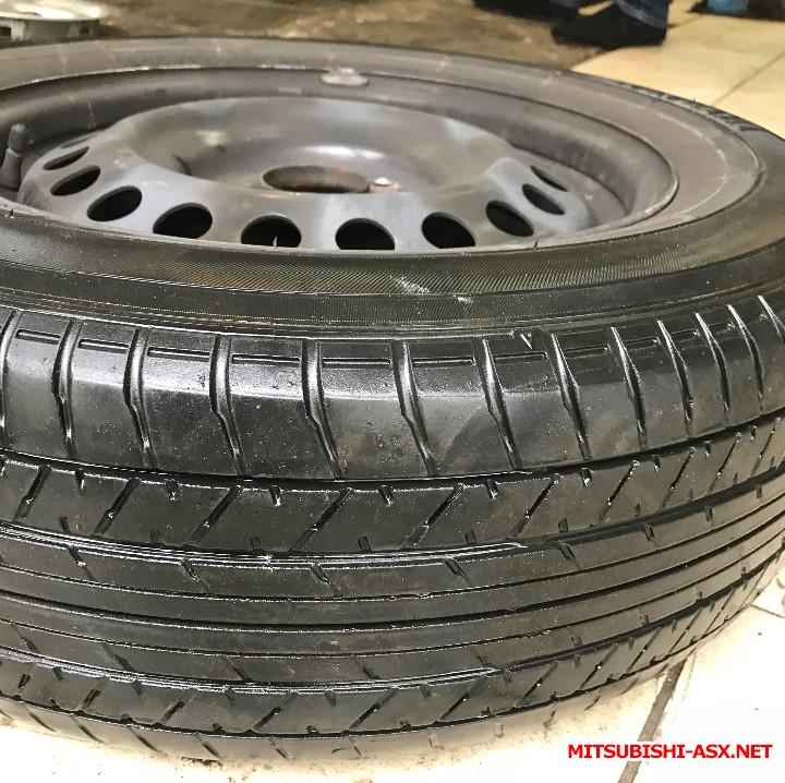 Продам родные колеса штамповка, летняя Yokohama Aspec r16 - E020522E-E0B4-485E-8C22-0B42E78CB20C.jpeg
