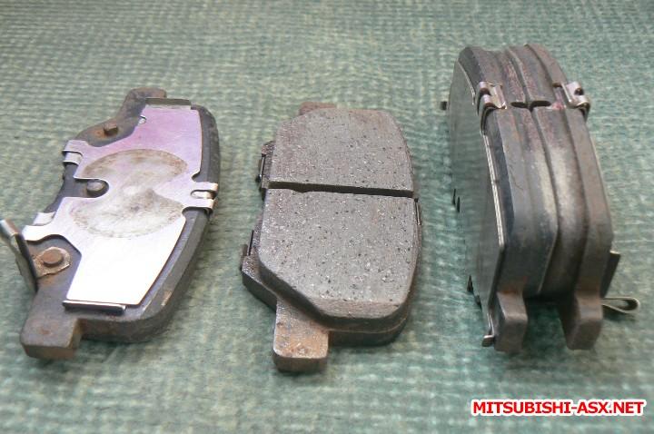 [Продам] Детали тормозной системы. - колодки задние оригинал для ASX рестайлинг и Outlander 3.JPG