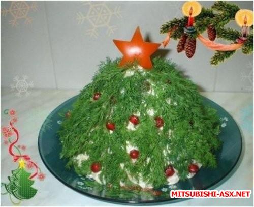 Рецепт салатов с фото на новый год