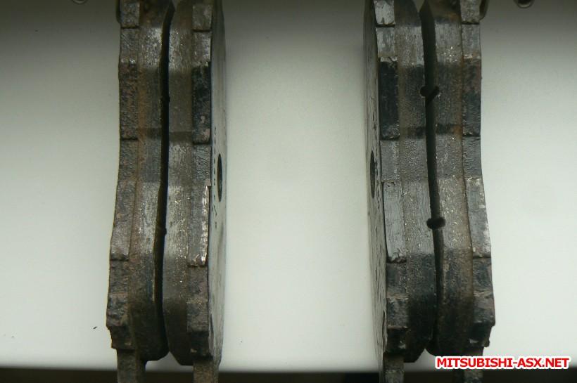 [Продам] Детали тормозной системы. - Передние тормозные колодки Мицубиши оригинал.JPG
