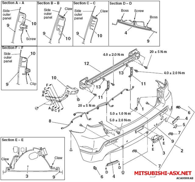 Как снять бампер у Mitsubishi ASX - 3f4cc9f2f033.jpg