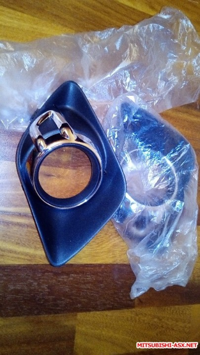 Продам руль кожаный, накладки ПТФ хром, дорестайл - IMG_20190418_205025.jpg