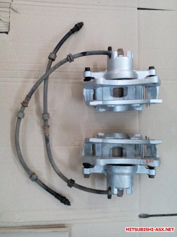 [Продам] Детали тормозной системы. - передний тормозной суппорт Mitsubishi ASX 4605A861 4605A862.jpg