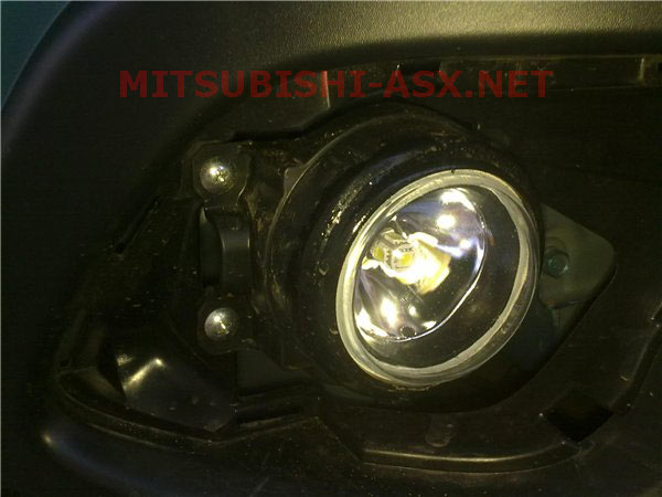 DRL ПТФ Mitsubishi ASX