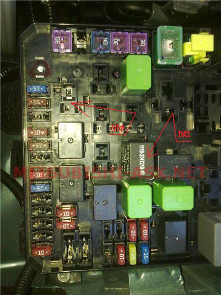 Блок ETACS Mitsubishi ASX