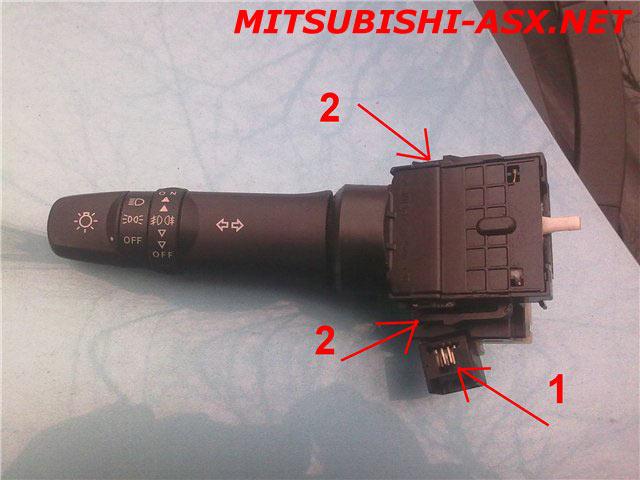 автосвет Mitsubishi ASX