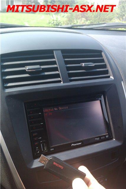 Магнитола 2Din в Mitsubishi ASX