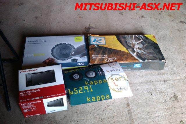 Ауди в Mitsubishi ASX
