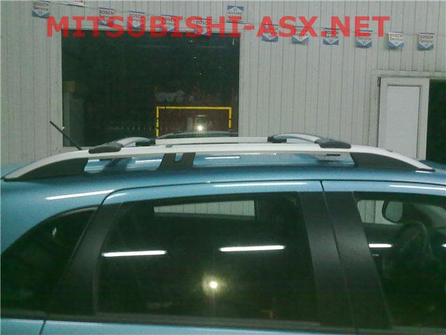 Рейлинги на крышу mitsubishi asx
