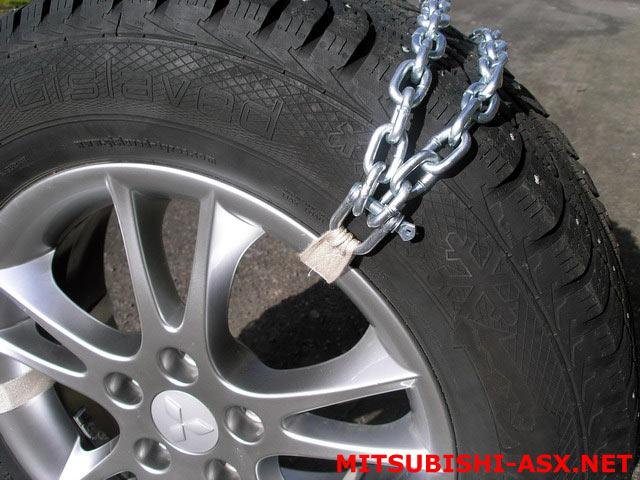 Изготовление цепных браслетов на шины 215/65 R16