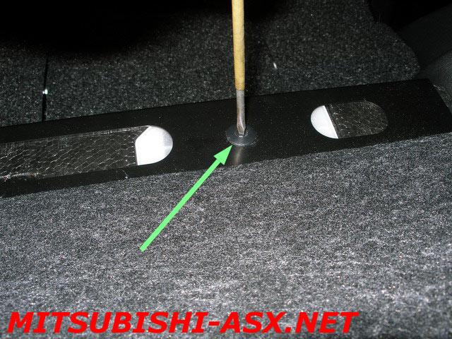 Дополнительное освещение в багажнике Mitsubishi ASX