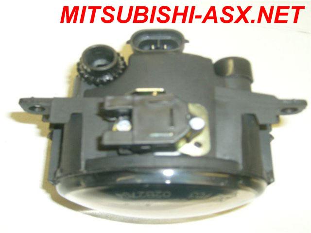 Установка DRL ПТФ от Логана на Mitsubishi ASX
