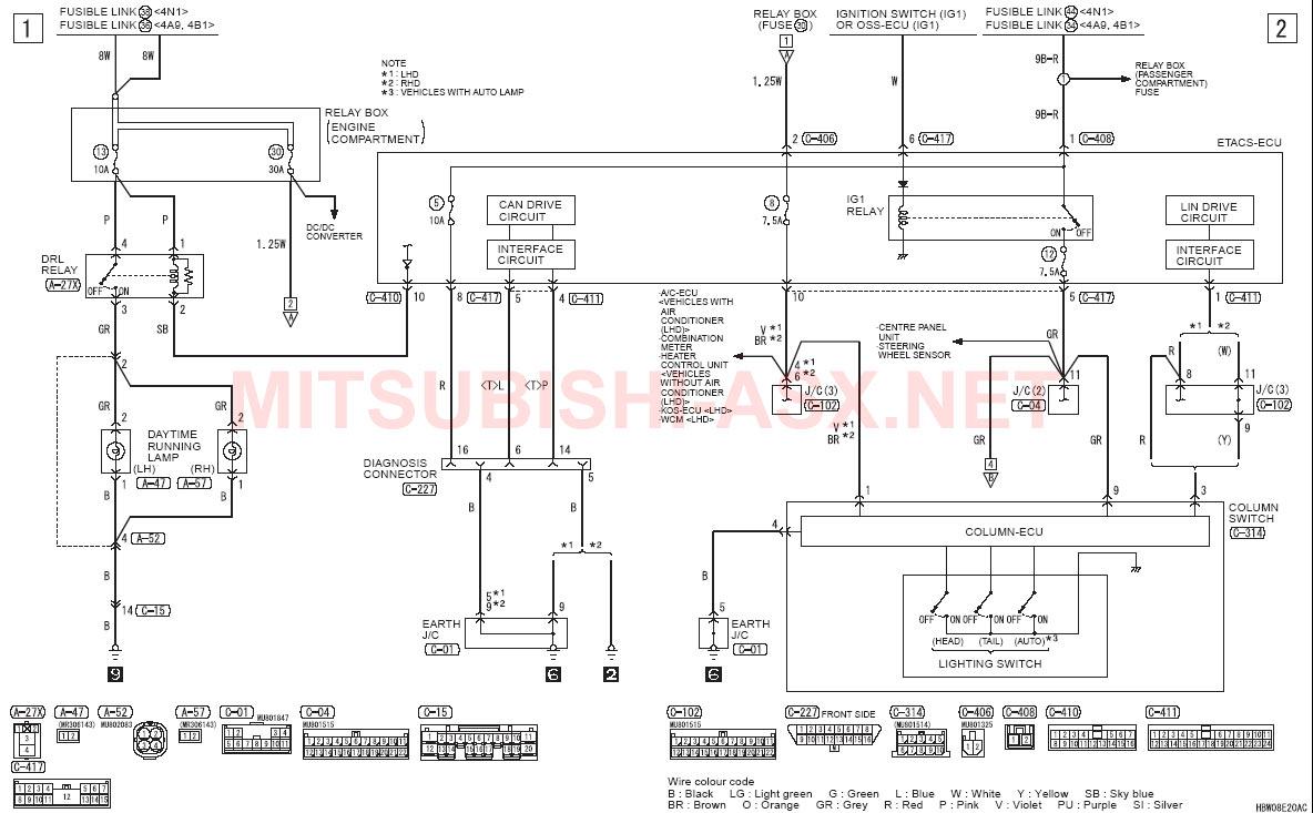 Распиновка Разъёма Магнитолы Mitsubishi Asx