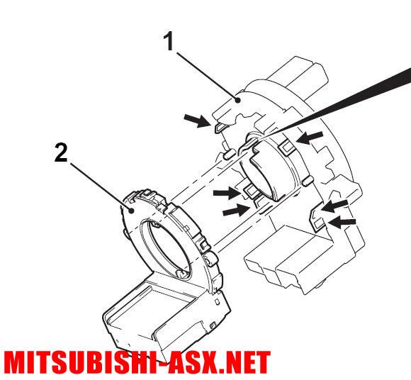 Установка системы курсовой устойчивости в Mitsubishi ASX