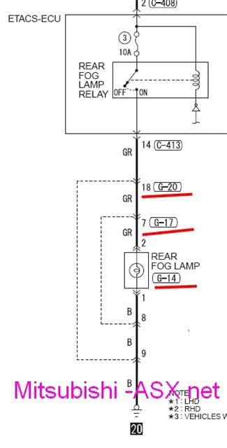 установка фаркопа Mitsubishi ASX