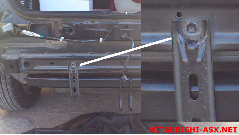 фаркоп VFM-bosal 4159A на Mitsubishi ASX