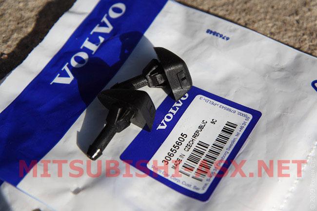 Форсунка омывателя Volvo для Mitsubishi ASX