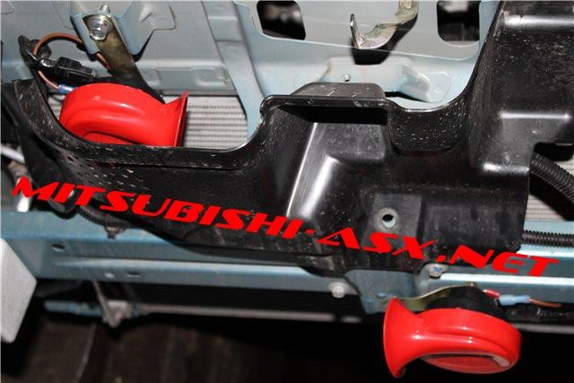 Замена клаксона на Mitsubishi ASX