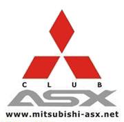 Клубная наклейка на стекло Mitsubishi ASX Клуб