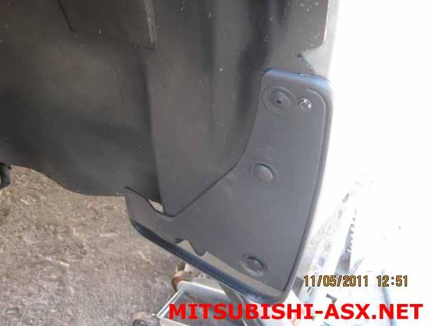 Брызговики Mitsubishi ASX