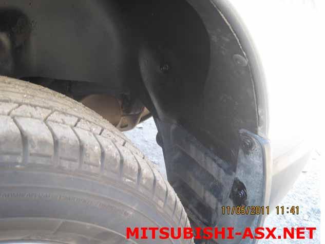 Передний подкрылок Mitsubishi ASX
