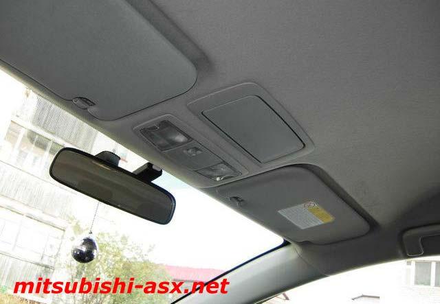 Установка очечника от Mitsubishi Outlander на ASX