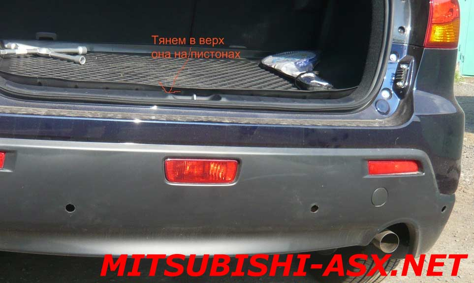 Установка парктроника на Mitsubishi ASX