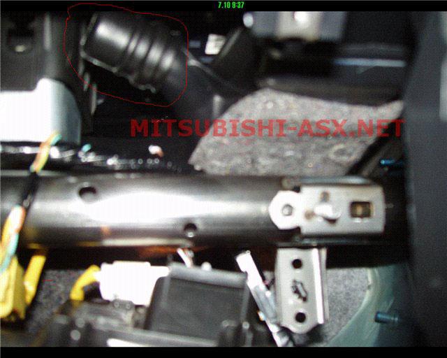 Охлаждение (обогрев) бардачка в Mitsubishi ASX