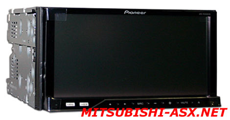 PIONEER AVH-P4200DVD на Mitsubishi ASX