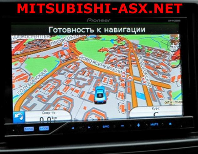 ASX навигация Garmin
