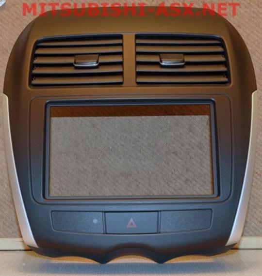Оригинальная 2-DIN рамка от MMC Mitsubishi ASX