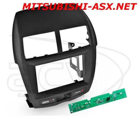 2-DIN рамка Мицубиси асх