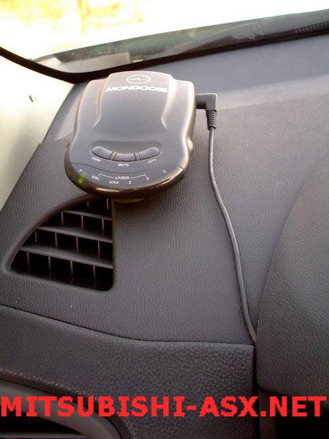 Альтернативное подключение потребителей Mitsubishi ASX