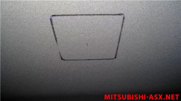 Плафон от Ланоса в Mitsubishi ASX