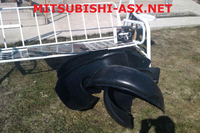 Подкрылки Петропласт для Mitsubishi ASX