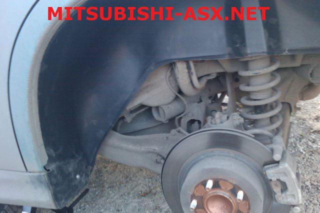 Подкрылки для Mitsubishi ASX