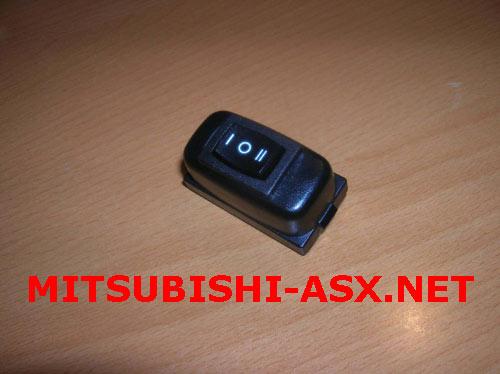 Подсветка педалей Mitsubishi ASX