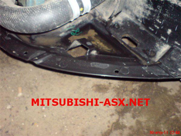 Снимаем бампер Mitsubishi ASX