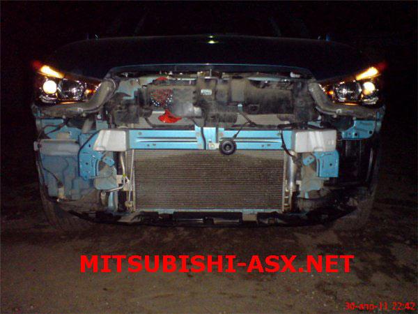 Без бампера Mitsubishi ASX