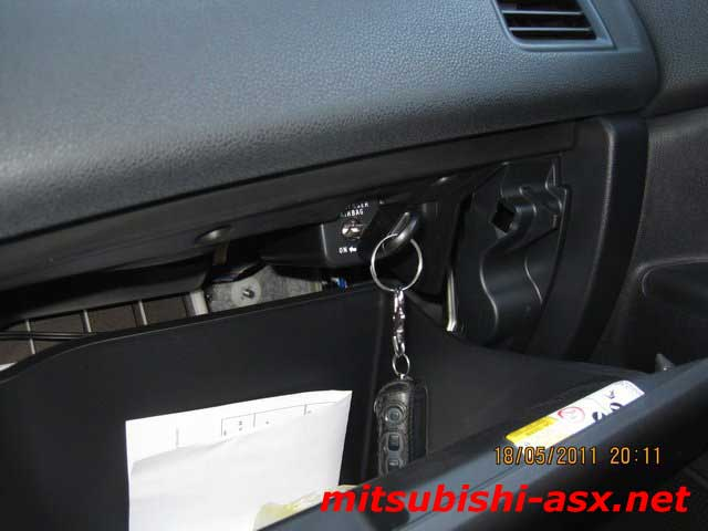 Отключение подушки безопасности Mitsubishi ASX