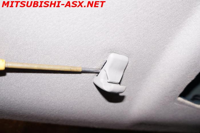 Шумоизоляция потолка Mitsubishi ASX