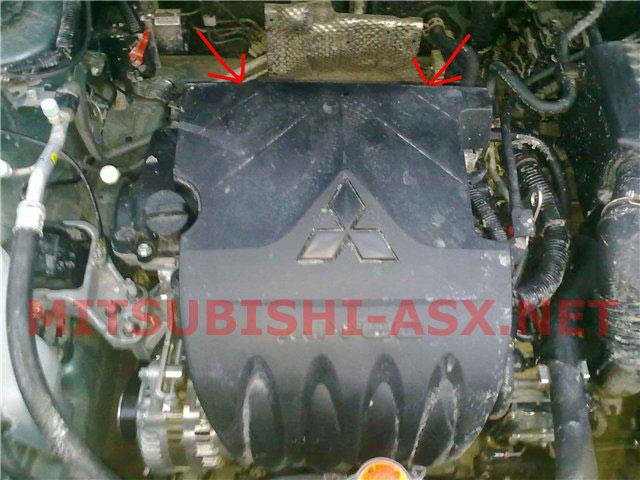 Замена свечей зажигания Mitsubishi ASX