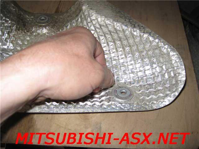 Тепловой отражатель Mitsubishi ASX