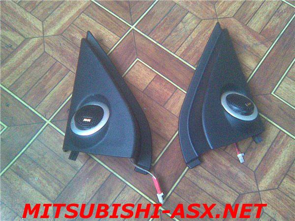 Установка твитеров Mitsubishi ASX